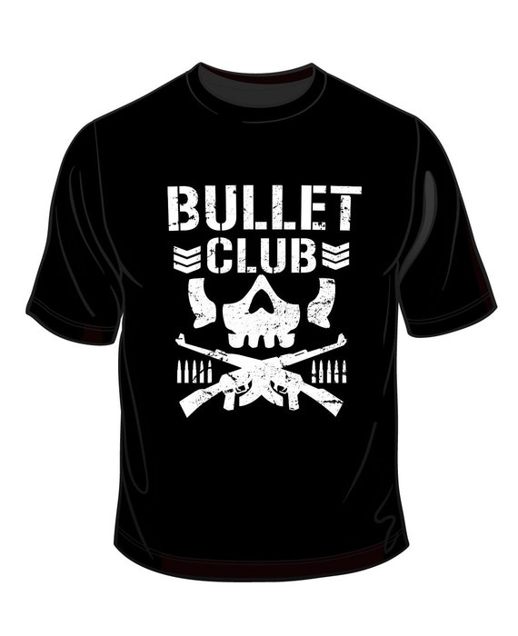 Bullet Club Wrestling T Shirt All In All Out Aew Njpw Cody Etsy