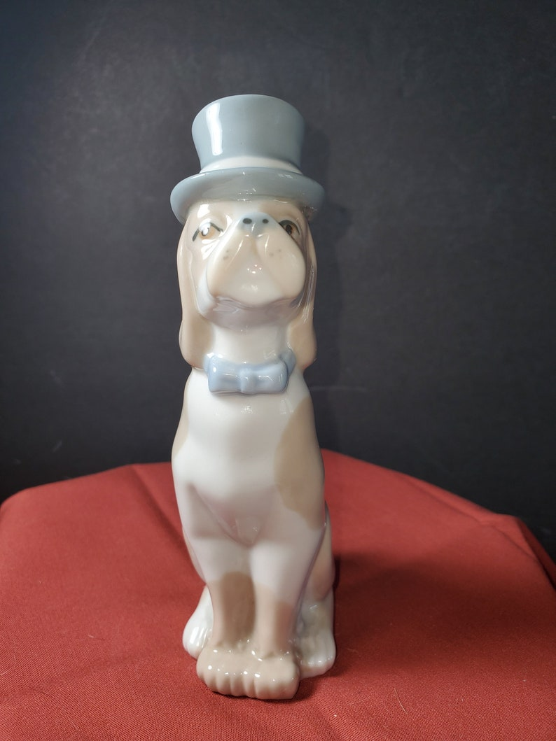 Casades Dog with Top Hat and Bowtie Made in Spain