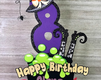 Halloween Cake Topper, Halloween Birthday Cake Topper, Halloween Birthday Decorations, Halloween Party Decor
