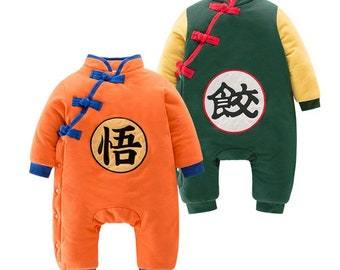 Toddler Kids Boy Baby crochet Knit beanie cap gohan goku dragon ball costume