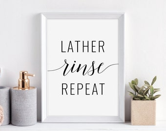 Lather Rinse Repeat Etsy