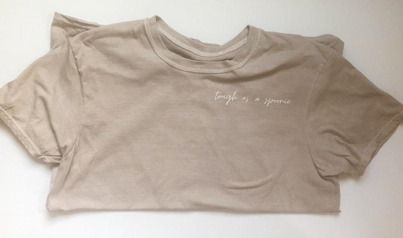 Tough as a Spoonie Inspiring Chronic Illness Spoonie shirt