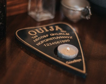 Planchette - Ouija board wall decor - Halloween Party - Spirit board game for talking to the souls - Witchcraft
