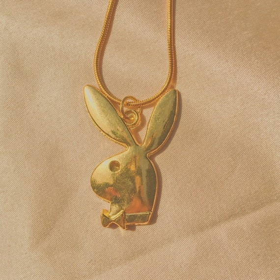 playboy-bunny-necklace by etsy