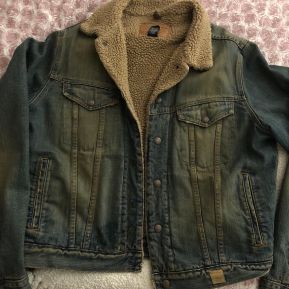 Shearling Jean Jacket