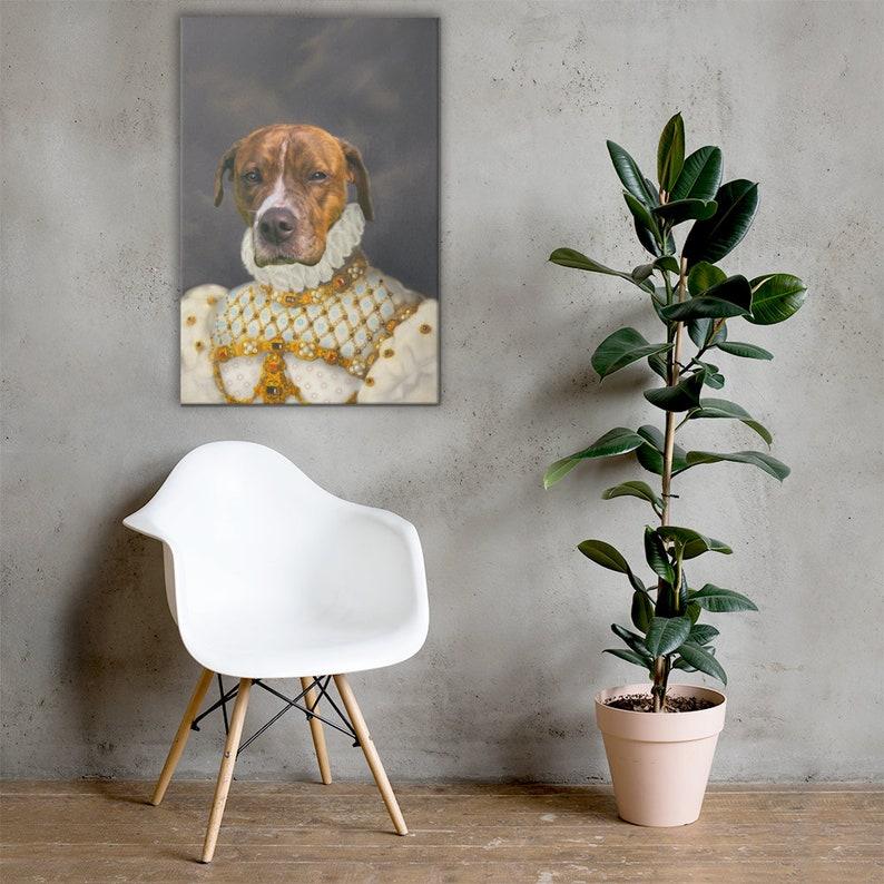 pet portraits regal pet portrait pet print dog lover gift pet lover gift Dog Lover Custom Gift custom dog portrait