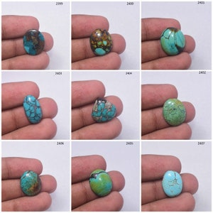 Turquoise High Quality Howlite Turquoise Smooth Oval Shape Cabochon HOWLITE TURQUOISE Size 48x33x5 mm 71 Ct