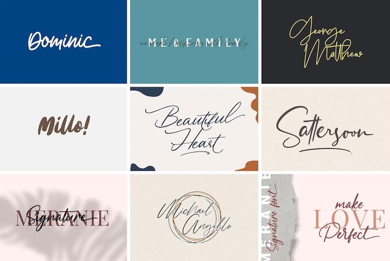 Download 32 Script fonts Pack Instant Digital Download Calligraphy ...