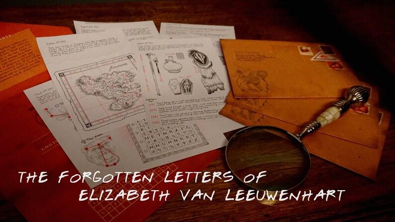 The forgotten letters of Elizabeth van Leeuwenhart image 0