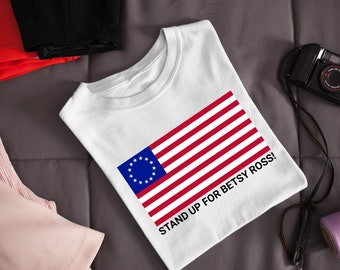Betsy Ross 13 Star Original Flag United States Unisex HOODIE Sweatshirt 987