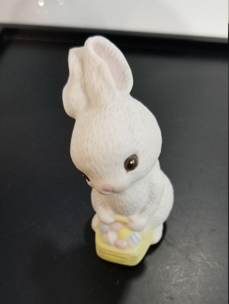 VINTAGE HALLMARK Ceramic Easter Bunny Rabbit Figurine
