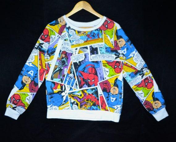 Marvel full print sweatshirt
