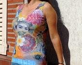 T-Shirt Inspired by Bali Inpiration Travel Flower Indonesia Beach