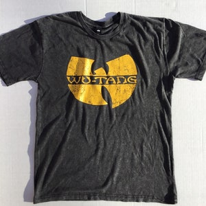 New Vintage Wu-Tang Clan by Wu-wear Limited 36 Chambers Sublimated S//S Tee Black