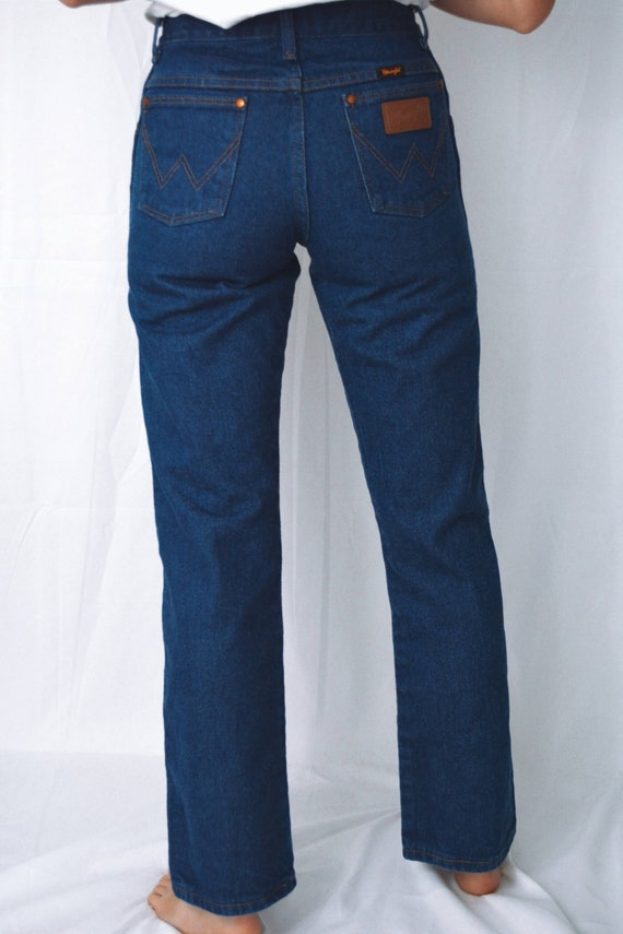 Vintage 80s Wrangler Blue Jeans | Wrangler - image 8