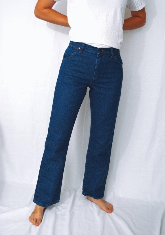 Vintage 80s Wrangler Blue Jeans | Wrangler - image 7
