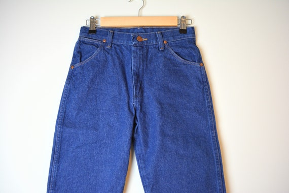 Vintage 80s Wrangler Blue Jeans | Wrangler - image 2