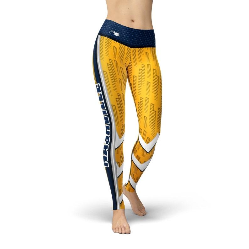 Workout Leggings Fitness Leggings Jean Nashville Hockey Leggings Leggings for Women