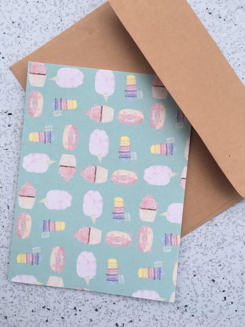 Greeting card Sweet delirium