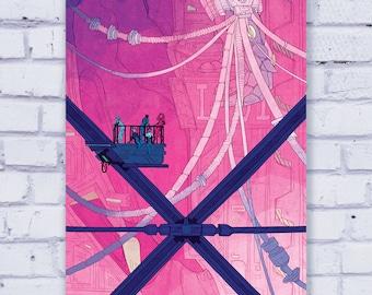Neon Genesis Evangelion - 11 x 17 Art Print