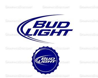 Bud light art | Etsy