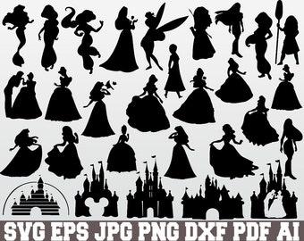 photograph relating to Disney Silhouette Printable identify Disney silhouette Etsy