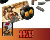 Bang! 8x Barrel + 35x Bullet Token Board Game