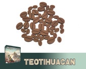Teotihuacan 50x Deluxe Cocoa Tokens Board Game