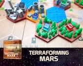 Terraforming Mars Industrial Center Tile Board Game