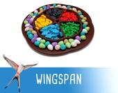 Wingspan Egg Food Token Tray Board Game