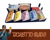Ticket to Ride Deluxe Card Tray Deck of Cards Board Game