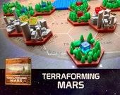 Terraforming Mars 24x Greenery Forest Bicolor Tiles Board Game