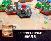 Terraforming Mars Commercial District Tile Board Game