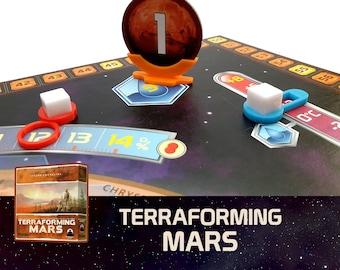 Terraforming Mars 3x Indicators Board Game