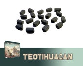 Teotihuacan 20x Deluxe Stone Tokens Board Game