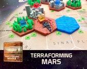 Terraforming Mars Noctis City Tile Board Game