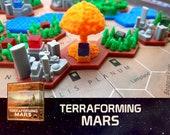 Terraforming Mars Nuclear Zone Nuke Tile Board Game