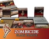 Zombicide Black Plague Card Expansion Slot Board Game