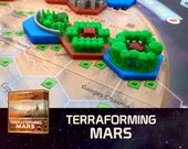 Terraforming Mars 3x Special Forest Tile (Mangrove, Protected Valley, Plantation) Board Game