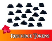 20/40x Deluxe Iron Resource Tokens Board Game