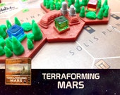 Terraforming Mars Corporate Stronghold Tile Board Game