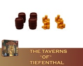 The Taverns of Tiefenthal 8x Beer Storage and Safe Markers Board Game
