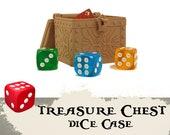 Treasure Chest Dice Case Board Game