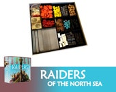 Raiders of the North Sea + Expansions Board Game Insert