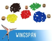 Wingspan 105x Deluxe Food Tokens Board Game