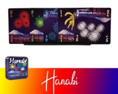 Hanabi Card Game 5x Playing Cards Holder