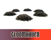 Gloomhaven 6x Rubble Board Game