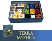 Terra Mystica + Expansion Board Game Insert