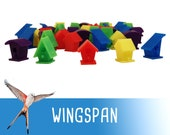 Wingspan 40x Deluxe Action Markers Player Tokens Board Game