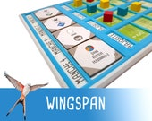Wingspan Round End Overlay Board Game